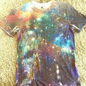 Galaxy style shirt